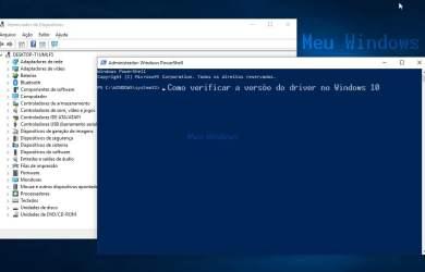 Como verificar a versão do driver no Windows 10