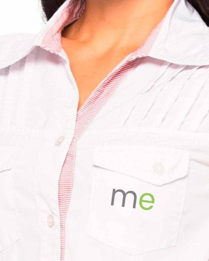 Uniformes empresariales para Mercaderistas M21 cuello