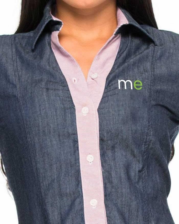 Dotaciones empresariales para mercaderistas M25 camisa frente