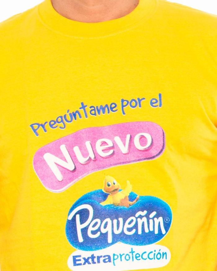 Camisetas personalizadas P4 detalle estampado