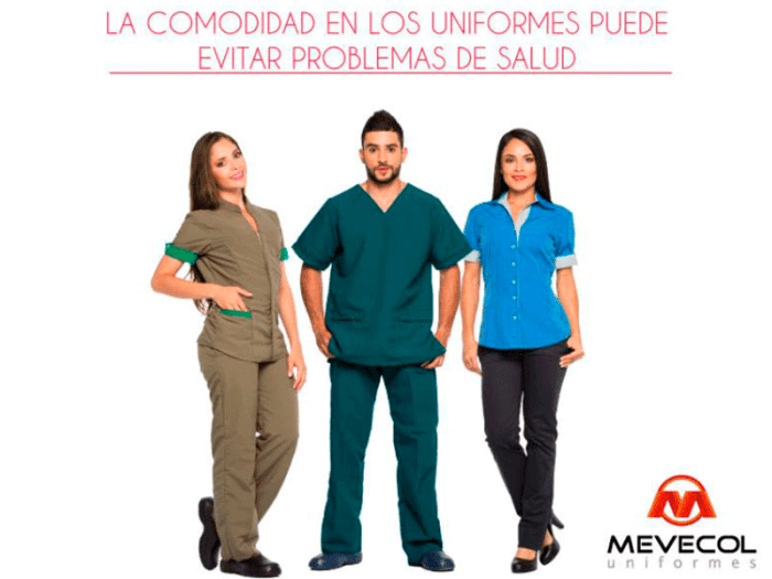 La comodidad en los uniformes puede evitar problemas de salud