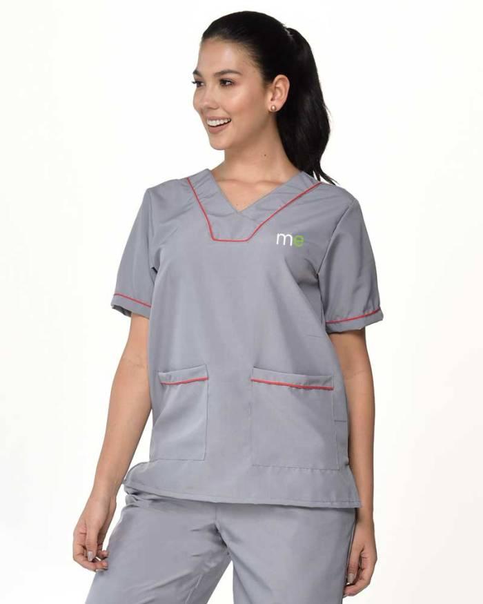 uniforme gris de dama antifluido s11-4