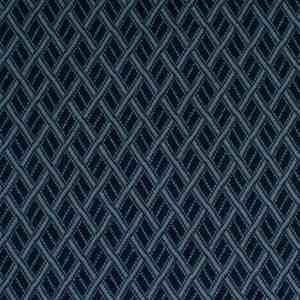 Albstoffe gebreide stof GOTS bliss fence blauw