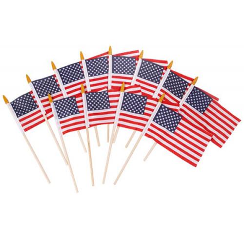 HANDHELD AMERICAN FLAGS