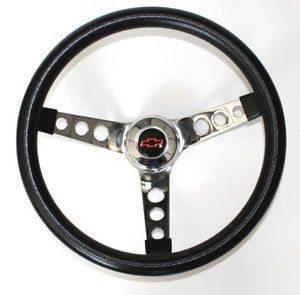Volante Negro De 13.5 Para Chevrolet El Camino 1964-1965
