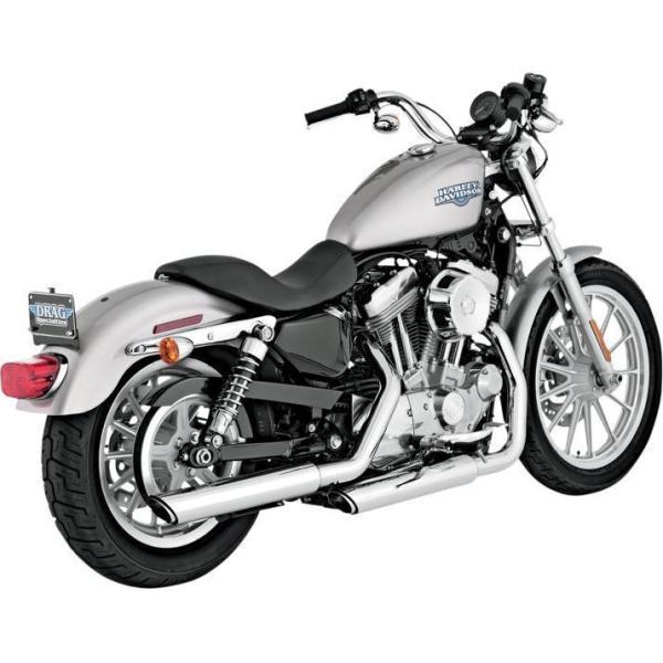 Escapes Slip-on Vance & Hines Cromados Para Harley Davidson Sportster