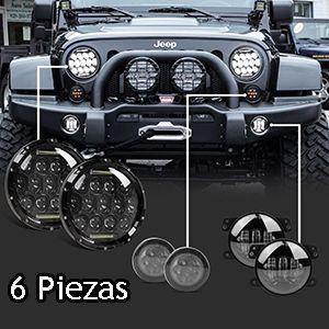 Faros Faros De Niebla Y Direccionales Para Jeep Wrangler Jk