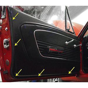 Hules De Puerta Para Ford Mustang 1965-1966