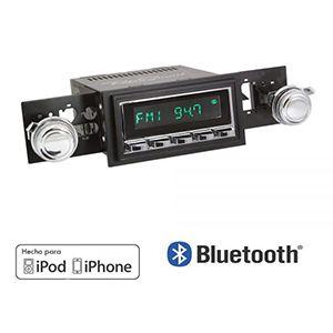 Radio Estéreo Clásico Bluetooth Para Camioneta Ford Serie F 1968-1979