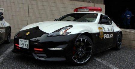 Policias de Tokyo trabajarán a bordo del Nissan 370Z Nismo