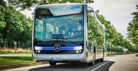 Autobus autónomo Mercedes recorre 12 Millas en Amsterdam