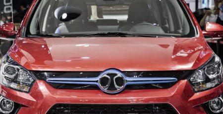 BAIC reciclará partes del Mercedes E-Class para sedan Chino