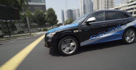 Delphi comienza pruebas de auto autónomo en Singapur