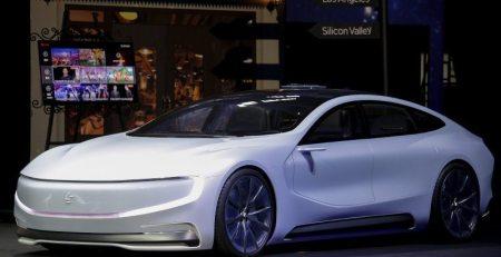 Leeco rival de Tesla construye fábrica de VE en China