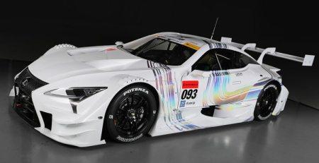 Lexus crea un RC F Super GT del impresionante LC 500