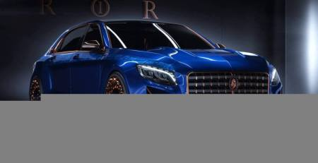 Scaldarsi Emperor I un Mercedes Maybach-S600 Extremo