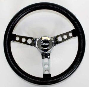 Volante Negro De 13.5 Para Chevrolet Camaro 1969-1989