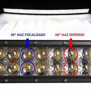 """Barra De Led Curva De 54"""" Con Soportes Para Ford F-150 2004-2014"""