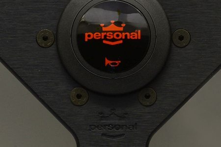 Volante Nardi Personal Neo Grinta 350 mm De Piel Negro Universal
