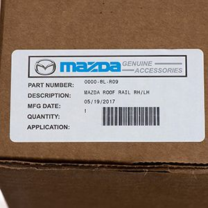 Rieles Lateras De Techo Originales Para Mazda CX-5 2017-2018