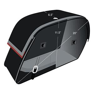 Alforjas Para Moto Honda 1100 Shadow Sabre