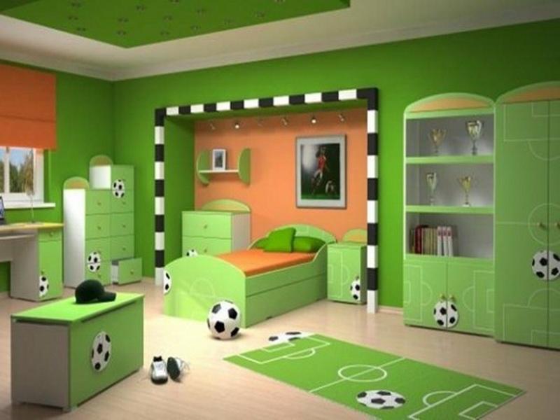 ديكورات غرف نوم أطفال جديدة بدهانات مميزة ميكساتك