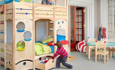 غرف نوم أطفالمودرن