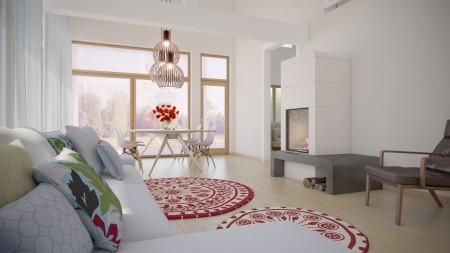 Arsan daireleri için tavan tasarımları (1)