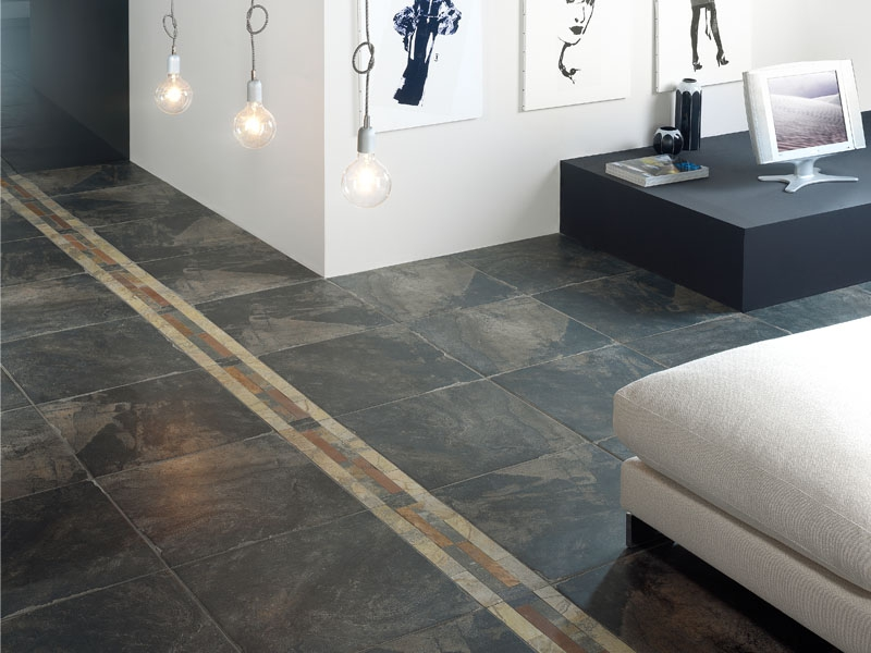 Groutless Floor Tile