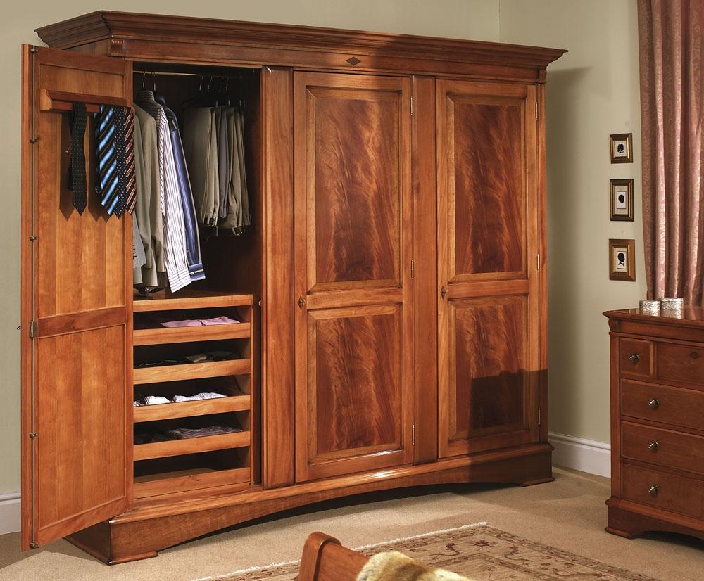 Large Clothing Wardrobe Armoire