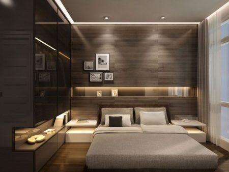 غرف نوم مودرن كاملة بالدولاب للعرسان ميكساتك