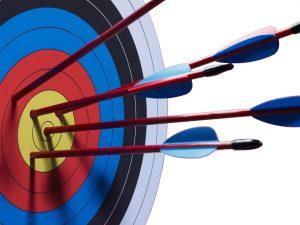 Arrows-on-target