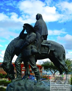 monumento los pioneros