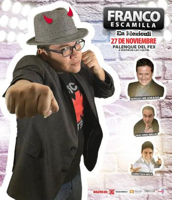 Franco Escamilla en Mexicali