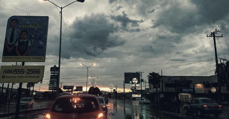Vienen Lluvias y Vientos a Baja California