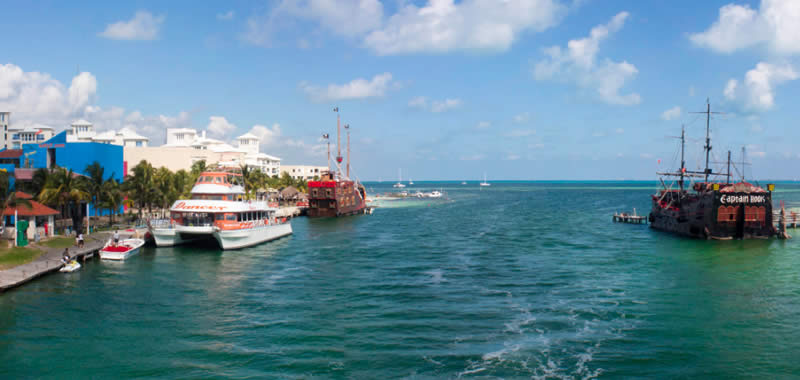 El Embarcadero Cancun Tours Cancun Ferry To Isla Mujeres