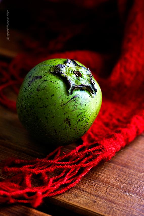 Sapote Negro or Black Sapote | #mexico #fruit #sapote #blacksapote