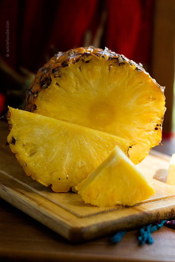 Mexican Pineapple | #mexico #fruit #tropical #pineapple