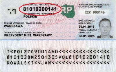 New Laws on Registration in Place of Domicile and PESEL