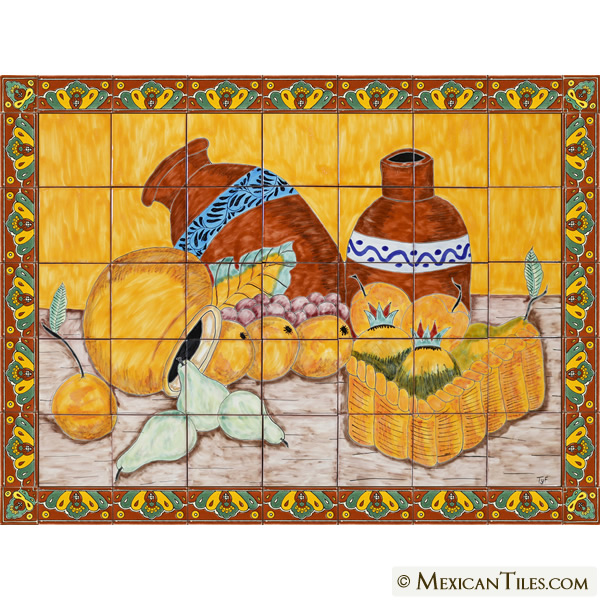 decorative talavera mexican tile