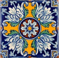 Mexican Tile - Ceramic High Fired Tile For Kitchen ...
