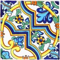 Mexican Tile - Bellagio 1 Terra Nova Mediterraneo Ceramic Tile