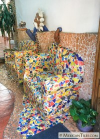 Mexican Tile - Broken Mexican Talavera Tiles - Decorative