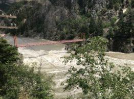 Hells Gate Fraser River