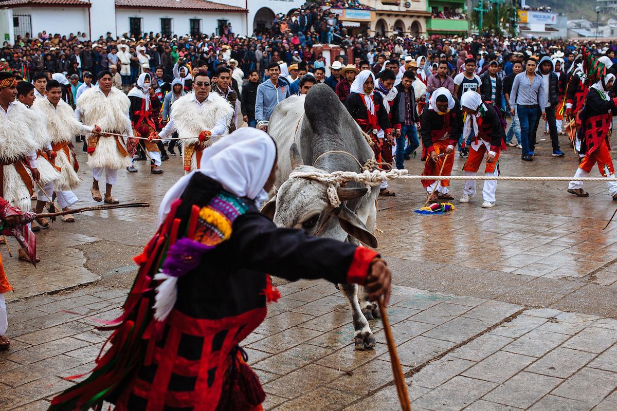 Imgenes sorprendentes del Carnaval de San Juan Chamula