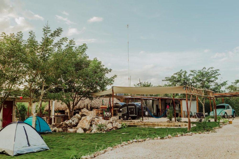 El vocho hotel para dormir en Valladolid, Yucatán
