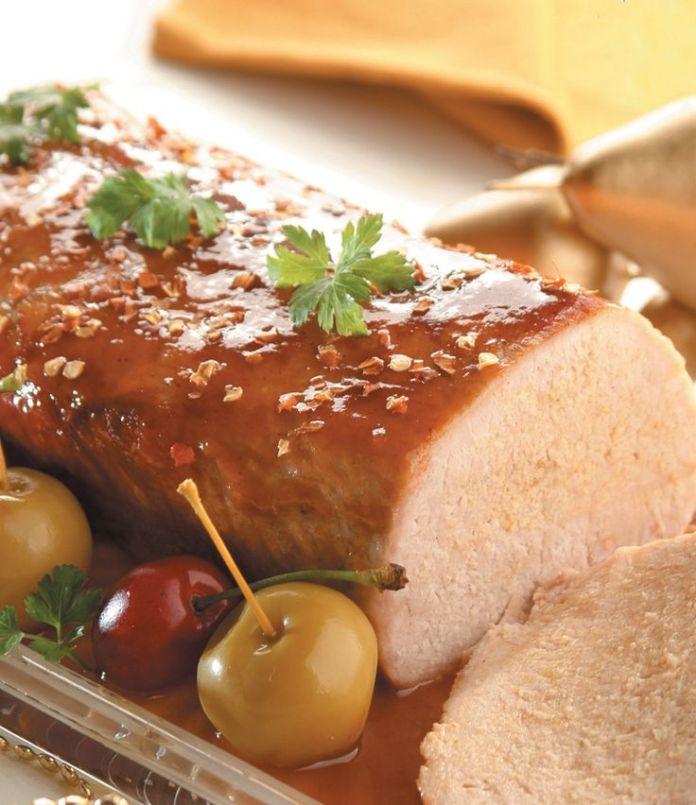 Christmas Baked Pork Loin