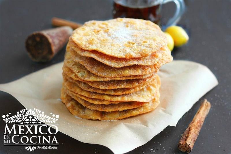 Buñuelos Mexicanos receta sencilla