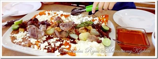 disfruta de esta deliciosa receta enchiladas rojas