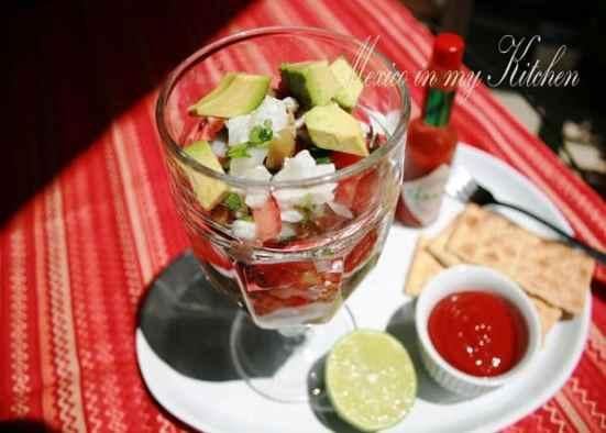 receta de ceviche mexicano